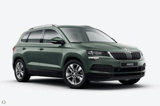 2021 Skoda Karoq NU MY21 110TSI FWD Green 8 Speed Automatic Wagon.