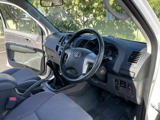 2012 Toyota Hilux KUN26R SR White 5 Speed Manual Dual Cab