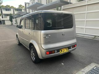 2005 Nissan Cube BZ11 Silver 4 Speed Automatic Wagon