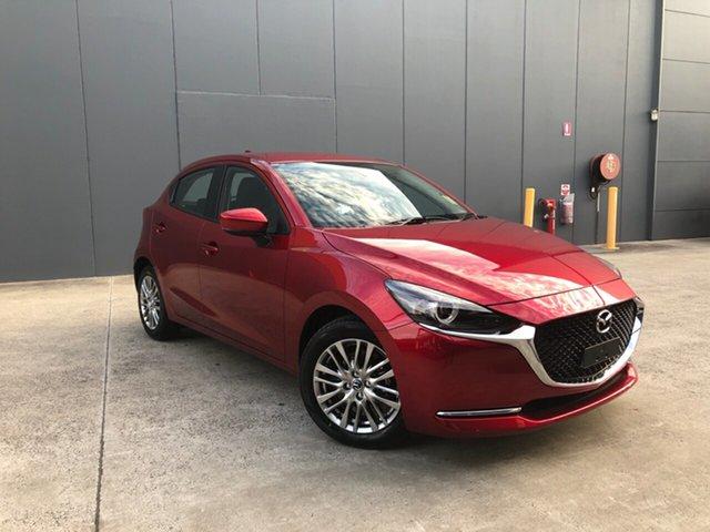 New Mazda 2 DJ2HAA G15 SKYACTIV-Drive Evolve Alexandria, 2021 Mazda 2 DJ2HAA G15 SKYACTIV-Drive Evolve Soul Red Crystal 6 Speed Sports Automatic Hatchback