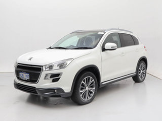 2016 Peugeot 4008 MY15 Active (4x2) White 6 Speed CVT Auto Sequential Wagon.