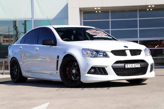 Used Holden Special Vehicles ClubSport Gen-F MY15 R8 Liverpool, 2014 Holden Special Vehicles ClubSport Gen-F MY15 R8 Heron White 6 Speed Sports Automatic Sedan