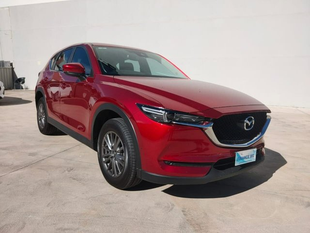 Used Mazda CX-5 Goulburn, 2017 Mazda CX-5 Maxx - Sport Red Sports Automatic Wagon