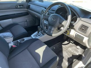 2007 Subaru Forester MY07 X White 4 Speed Auto Elec Sportshift Wagon.