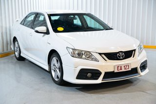 2013 Toyota Aurion GSV50R Sportivo SX6 White 6 Speed Sports Automatic Sedan