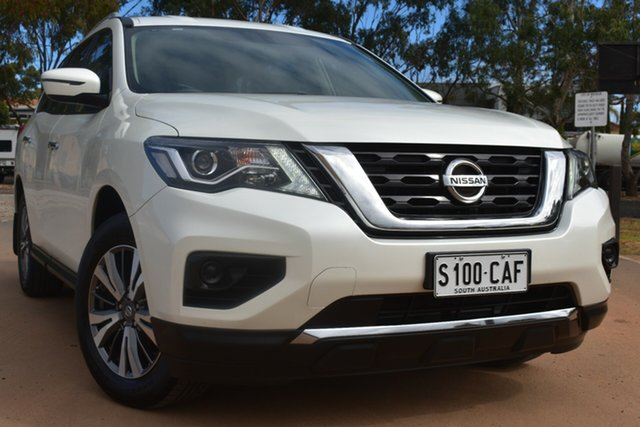 Used Nissan Pathfinder R52 Series II MY17 ST X-tronic 2WD St Marys, 2018 Nissan Pathfinder R52 Series II MY17 ST X-tronic 2WD White 1 Speed Constant Variable Wagon