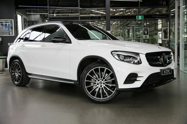 Used Mercedes-Benz GLC-Class X253 809MY GLC250 9G-Tronic 4MATIC North Melbourne, 2019 Mercedes-Benz GLC-Class X253 809MY GLC250 9G-Tronic 4MATIC White 9 Speed Sports Automatic Wagon