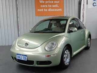 2006 Volkswagen Beetle 9C MY2006 Miami Coupe Green 4 Speed Automatic Liftback.
