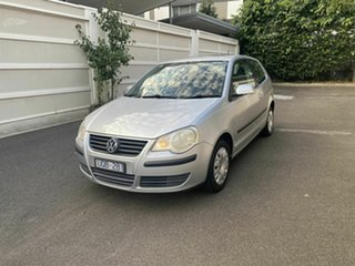 2006 Volkswagen Polo 9N MY2006 Club Silver 4 Speed Automatic Hatchback