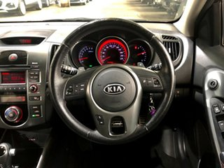 2012 Kia Cerato TD MY12 SLi Black 6 Speed Sports Automatic Hatchback