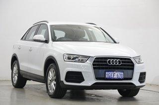 2016 Audi Q3 8U MY16 TFSI S Tronic White 6 Speed Sports Automatic Dual Clutch Wagon