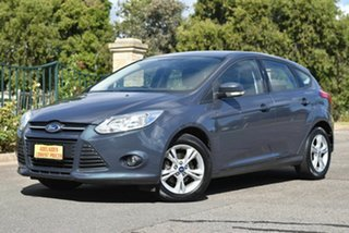 2013 Ford Focus LW MkII Trend PwrShift Grey 6 Speed Sports Automatic Dual Clutch Hatchback.