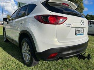 2014 Mazda CX-5 KE1032 Maxx SKYACTIV-Drive AWD Sport Crystal White Pearl 6 Speed Sports Automatic
