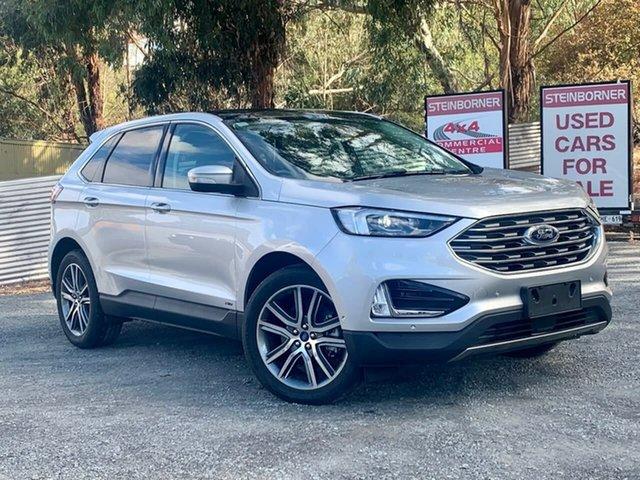 Used Ford Endura CA 2019MY Titanium Clare, 2018 Ford Endura CA 2019MY Titanium Silver 8 Speed Sports Automatic Wagon