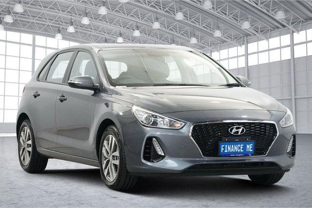 Used Hyundai i30 PD2 MY19 Active Victoria Park, 2019 Hyundai i30 PD2 MY19 Active Grey 6 Speed Sports Automatic Hatchback