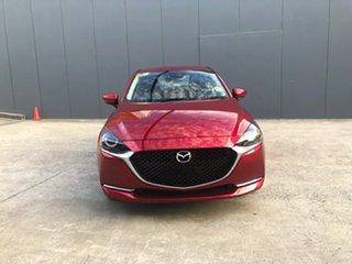2021 Mazda 2 DJ2HAA G15 SKYACTIV-Drive Evolve Soul Red Crystal 6 Speed Sports Automatic Hatchback.
