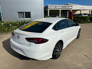 2018 Holden Commodore ZB MY18 RS Liftback White/160519 9 Speed Sports Automatic Liftback.