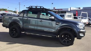 2016 Ford Ranger PX MkII Wildtrak Double Cab Graphite 6 Speed Sports Automatic Utility