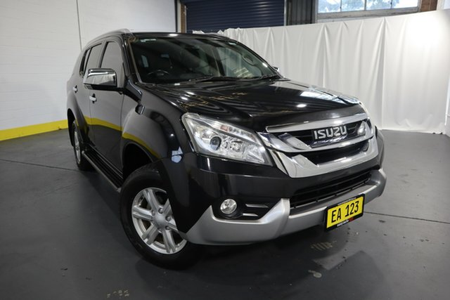 Used Isuzu MU-X MY16.5 LS-T Rev-Tronic 4x2 Castle Hill, 2016 Isuzu MU-X MY16.5 LS-T Rev-Tronic 4x2 Black 6 Speed Sports Automatic Wagon