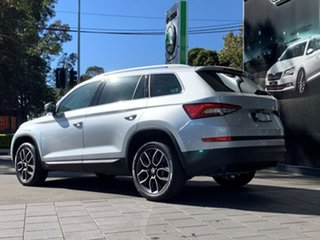 2020 Skoda Kodiaq NS MY20.5 132TSI DSG Silver 7 Speed Sports Automatic Dual Clutch Wagon
