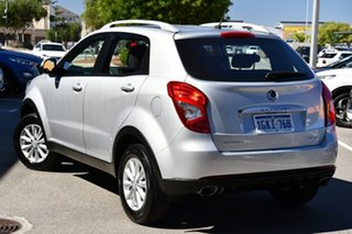2016 Ssangyong Korando C200 MY15 S 2WD Silver 6 Speed Automatic Wagon.