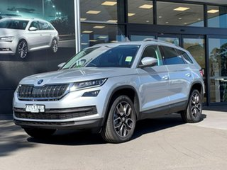 2020 Skoda Kodiaq NS MY20.5 132TSI DSG Silver 7 Speed Sports Automatic Dual Clutch Wagon.