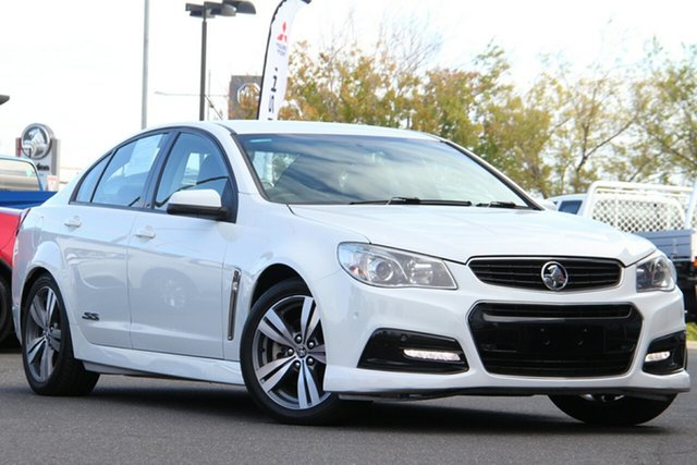 Used Holden Commodore VF MY14 SS Essendon North, 2014 Holden Commodore VF MY14 SS White 6 Speed Sports Automatic Sedan