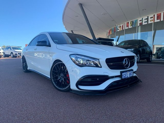 Pre-Owned Mercedes-Benz CLA45 117 MY15 AMG Myaree, 2016 Mercedes-Benz CLA45 117 MY15 AMG 7 Speed Automatic Coupe