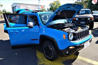 2015 Jeep Renegade BU MY16 Trailhawk AWD Blue 9 Speed Sports Automatic Hatchback