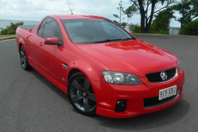 Used Holden Ute VE II MY12 Omega Gladstone, 2012 Holden Ute VE II MY12 Omega Red 6 Speed Sports Automatic Utility