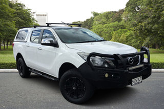 2015 Mazda BT-50 UR0YF1 GT White 6 Speed Sports Automatic Utility.