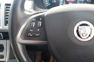 2012 Jaguar XF X250 MY12 Luxury Black 8 Speed Sports Automatic Sedan