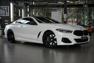 2019 BMW 8 Series G15 M850i xDrive Steptronic AWD White 8 Speed Sports Automatic Coupe.