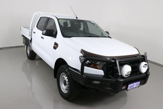 2017 Ford Ranger PX MkII MY18 XL 3.2 (4x4) White 6 Speed Automatic Crew Cab Chassis