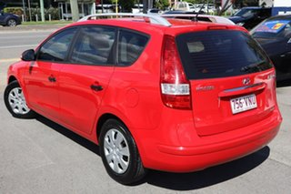 2010 Hyundai i30 FD MY11 SX cw Wagon Red 4 Speed Automatic Wagon