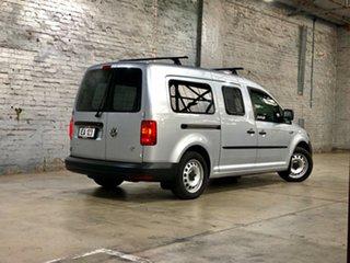 2015 Volkswagen Caddy 2KN MY16 TSI220 Maxi DSG Silver 7 Speed Sports Automatic Dual Clutch Van