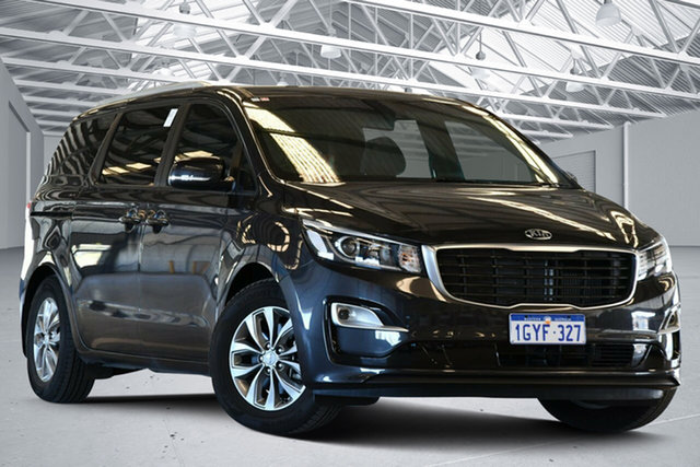 Used Kia Carnival YP PE MY20 SI Perth Airport, 2019 Kia Carnival YP PE MY20 SI Panthera Metal 8 Speed Automatic Wagon