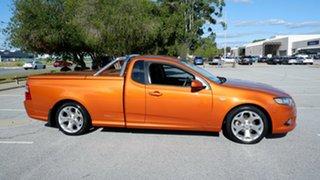 2010 Ford Falcon FG XR6 Ute Super Cab Sunburnt Orange 4 Speed Sports Automatic Utility.
