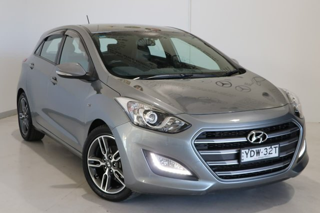 Used Hyundai i30 GD5 Series II MY17 SR Wagga Wagga, 2016 Hyundai i30 GD5 Series II MY17 SR Silver 6 Speed Sports Automatic Hatchback