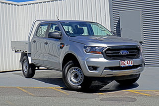 2020 Ford Ranger PX MkIII 2020.25MY XL Hi-Rider Silver 6 Speed Sports Automatic Double Cab Chassis.