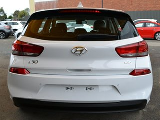 2018 Hyundai i30 PD MY18 Elite D-CT White 7 Speed Sports Automatic Dual Clutch Hatchback