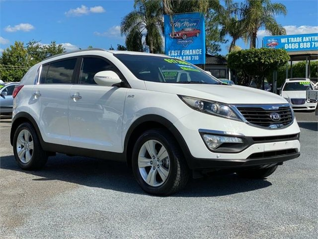 Used Kia Sportage SL SLi Archerfield, 2012 Kia Sportage SL SLi White 6 Speed Sports Automatic Wagon