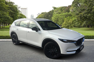 2021 Mazda CX-8 KG2WLA Touring SKYACTIV-Drive FWD SP White Pearl 6 Speed Sports Automatic Wagon.