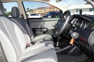 2010 Nissan Tiida C11 MY07 ST Grey 4 Speed Automatic Sedan