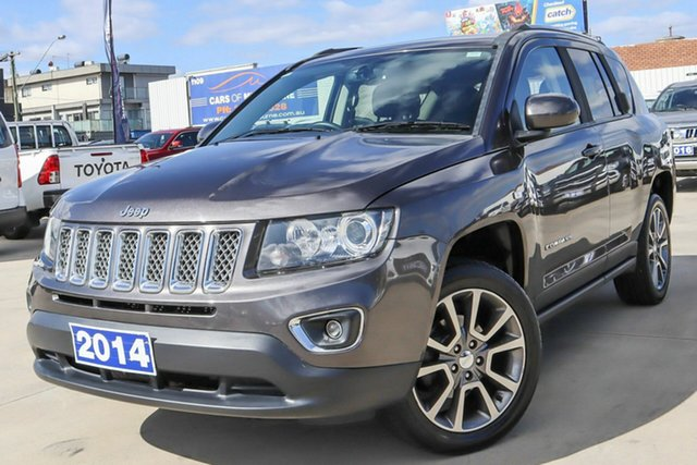 Used Jeep Compass MK MY15 Limited CVT Auto Stick Coburg North, 2014 Jeep Compass MK MY15 Limited CVT Auto Stick Grey 6 Speed Constant Variable Wagon