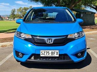 2014 Honda Jazz GF MY15 VTi-L Blue 1 Speed Constant Variable Hatchback.