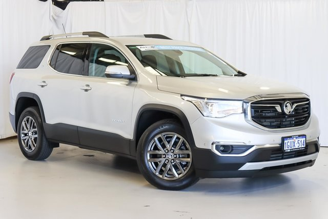 Used Holden Acadia AC MY19 LTZ 2WD Wangara, 2019 Holden Acadia AC MY19 LTZ 2WD Silver 9 Speed Sports Automatic Wagon