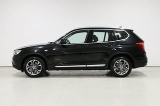 2017 BMW X3 F25 MY17 Update xDrive 20I Black 8 Speed Automatic Wagon