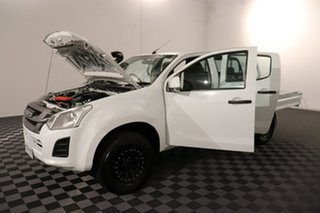 2019 Isuzu D-MAX MY18 SX Crew Cab White 6 speed Automatic Cab Chassis
