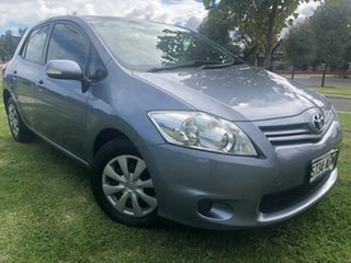 2010 Toyota Corolla ZRE152R MY10 Ascent Silver 4 Speed Automatic Hatchback.